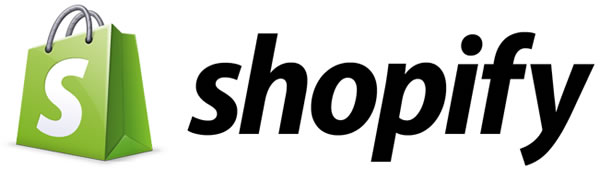 Shopify logo banner