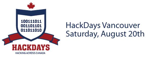 Hackdays vancouver