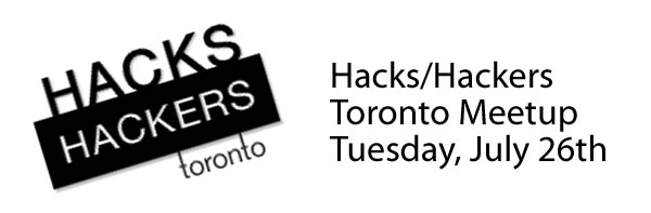 Hacks hackers toronto