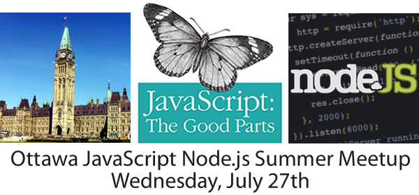 Ottawa javascript nodejs summer meetup