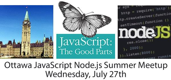 Ottawa JavaScript Node.js Summer Meetup
