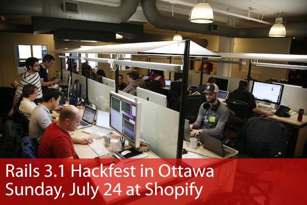 Rails 3 1 hackfest ottawa