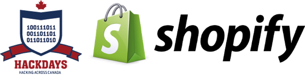 HackDays and Shopify logos