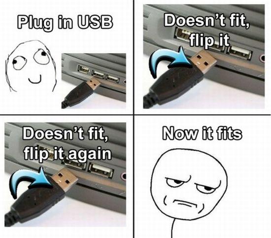 Plug in usb