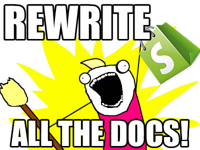 Rewrite all the docs