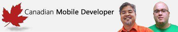 canadian mobile developer banner