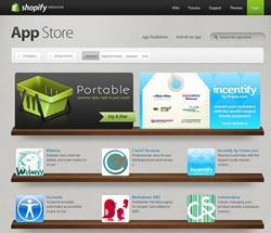 Screenshot of Shopify App Store