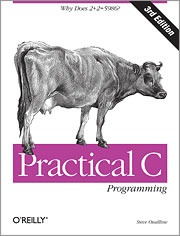 "Cover of the O'Reilly book ""Practical C Programming"""