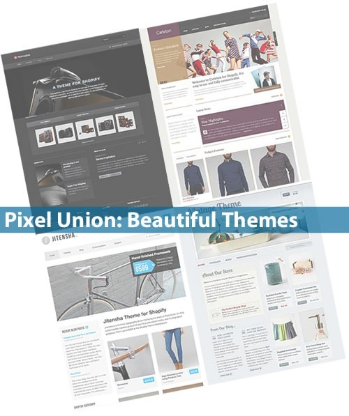 pixel union - beautiful themes
