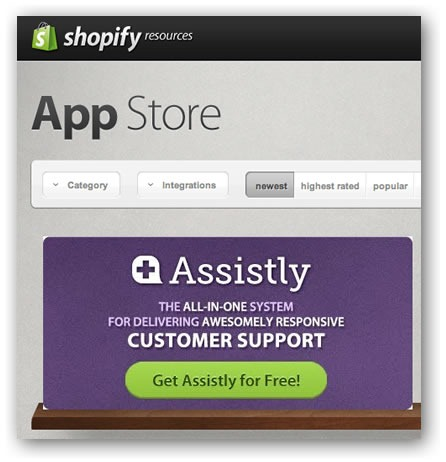 """Large Assistly """"featured app"""" icon in the App Store"""