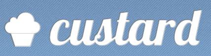 custard wordmark