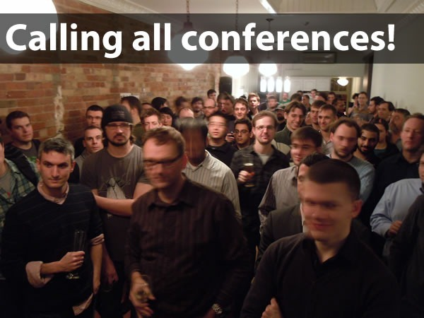 calling all conferences