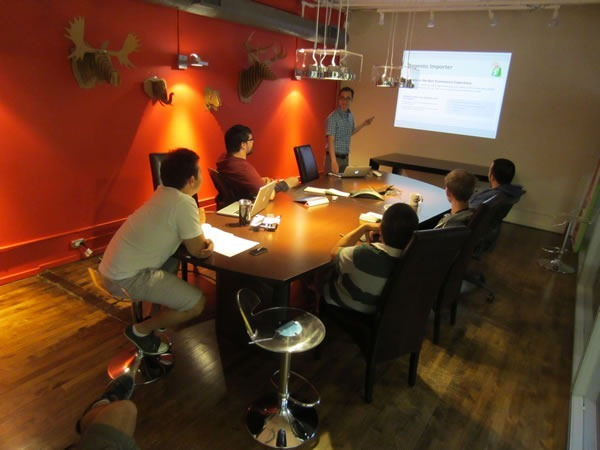 shopify apps team meeting