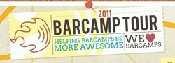 2011 barcamp tour logo