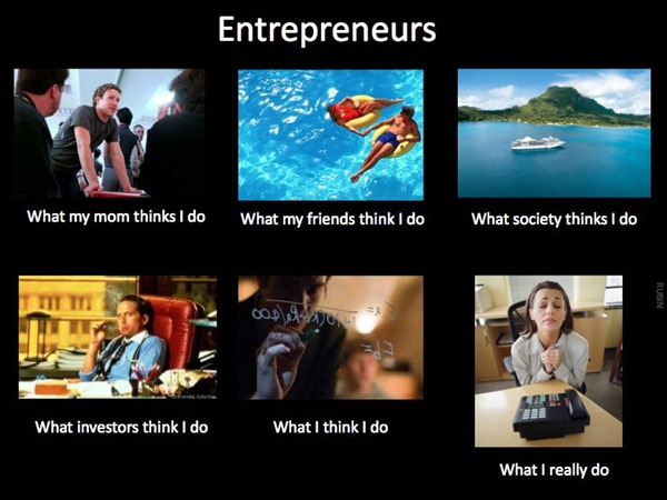 what people think entrepreneurs do