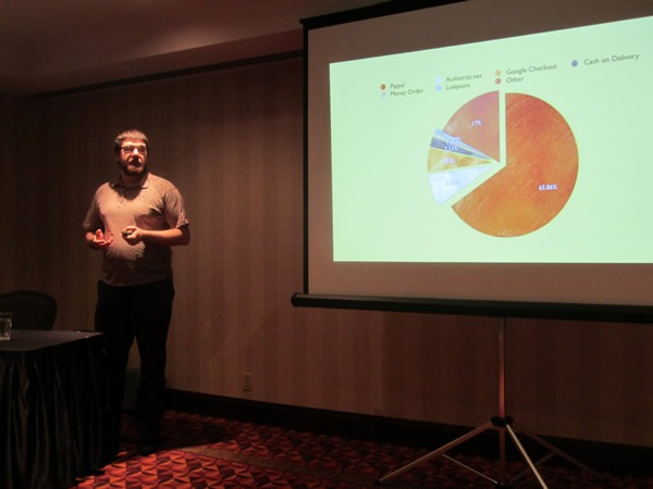"""David Underwood presenting at """"Mo' Money, Less Problems with ActiveMerchant"""""""
