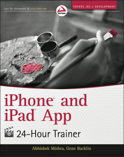 "Cover of ""iPhone and iPad App 24-Hour Trainer"""
