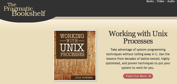 Working With Unix Processes Now Available On The Pragmatic