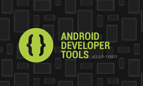 Splash screen for Android Developer Tools