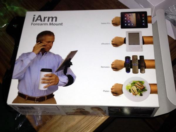iArm - forearm mount
