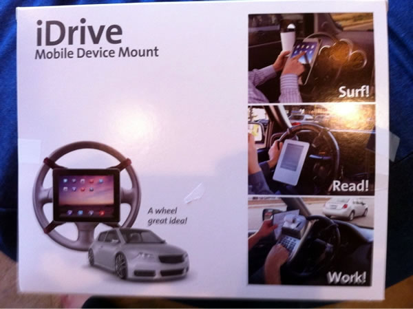 idrive wheel device mount