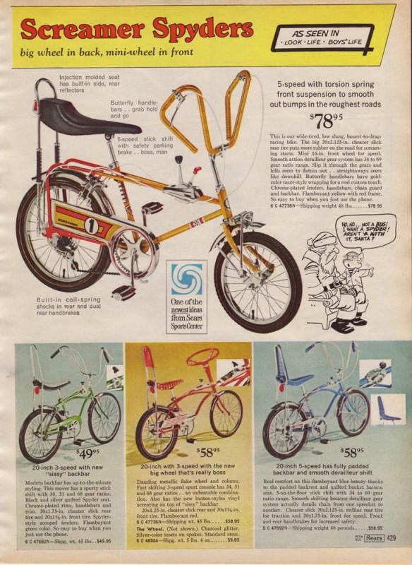 3-speed bikes
