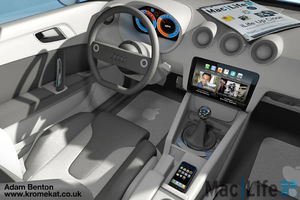 apple car cockpit