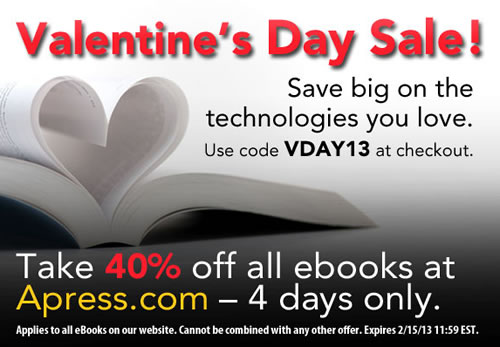 apress valentine sale