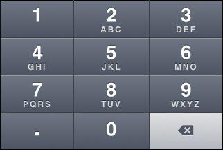 """iOS """"Decimal pad"""" keyboard"""