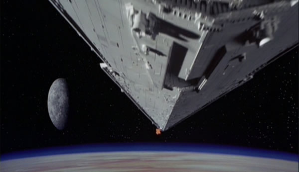 star wars episode iv opening shot