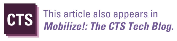this article also appears in mobilize the cts blog
