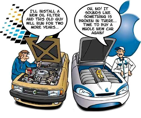windows and mac os as cars