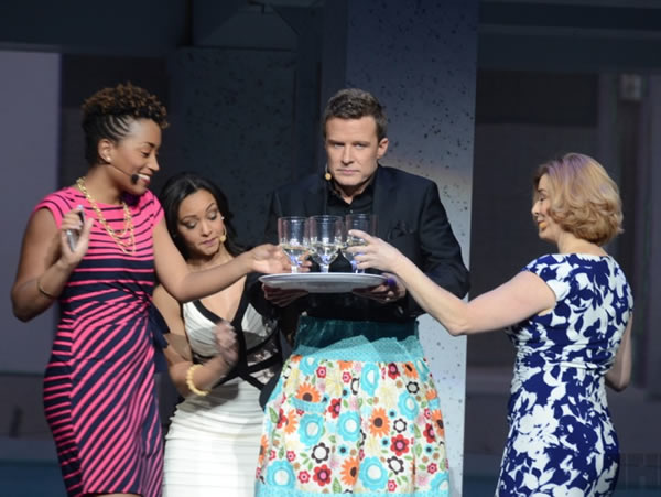 will chase serves drinks