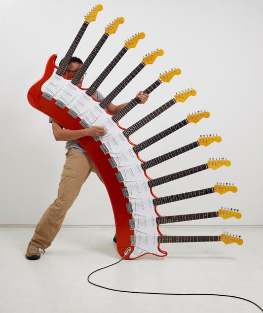 12-neck guitar