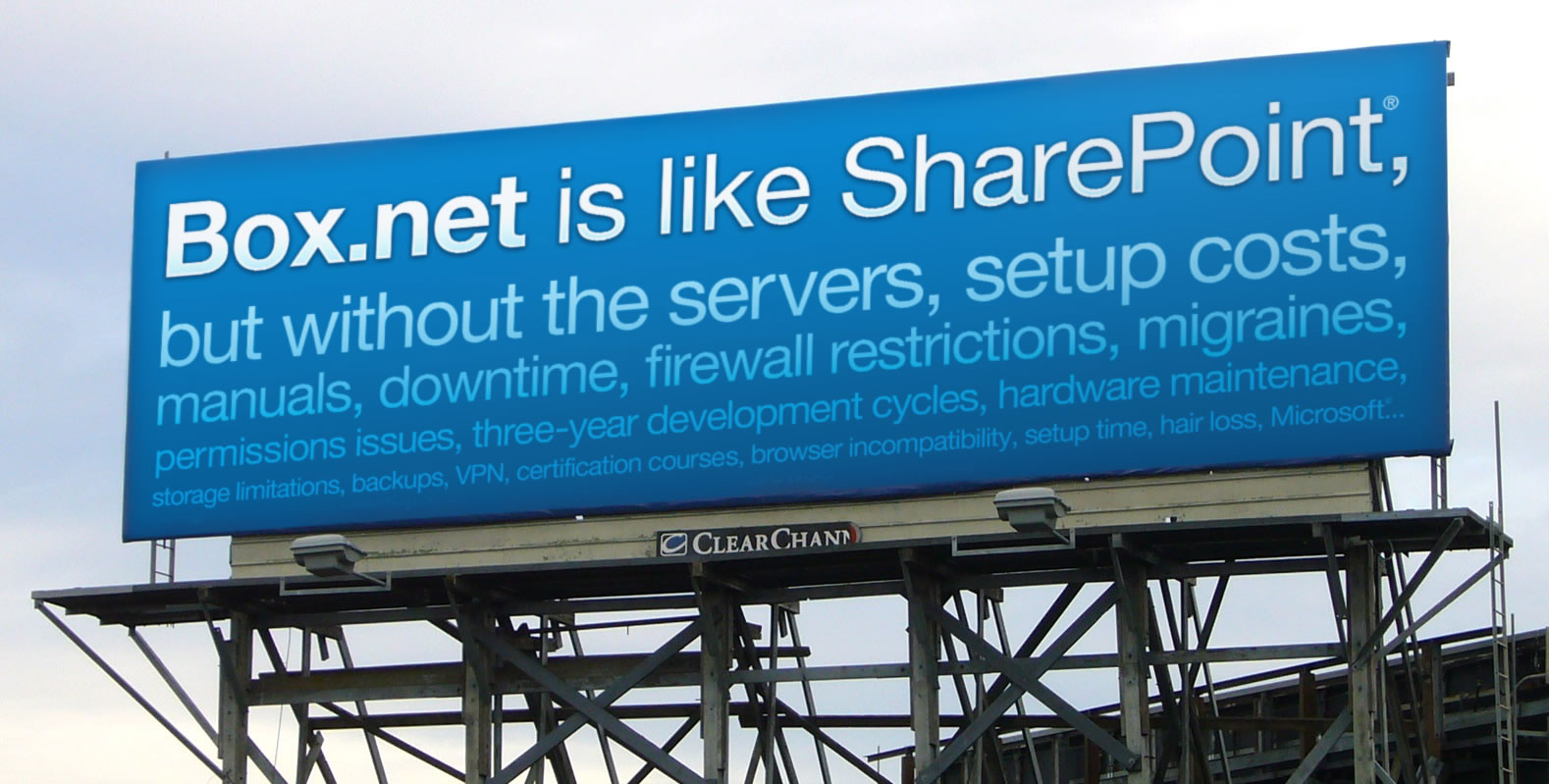 box sharepoint billboard