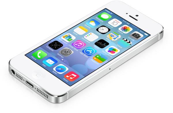 iphone running ios 7