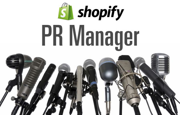 shopify pr manager