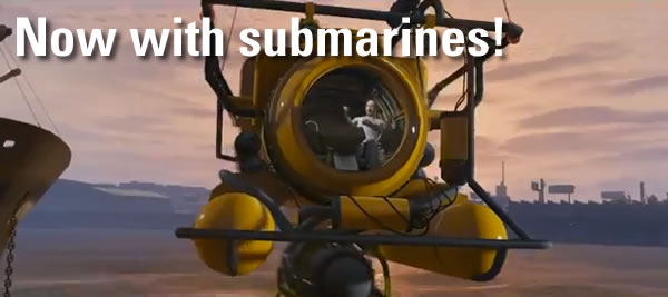 now with submarines