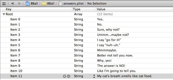 plist answers