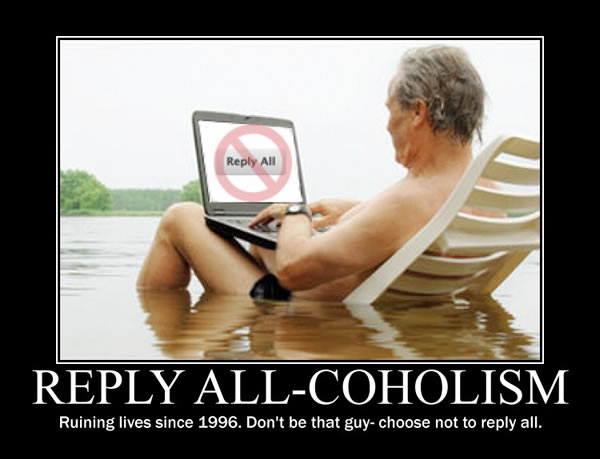 reply all-coholism
