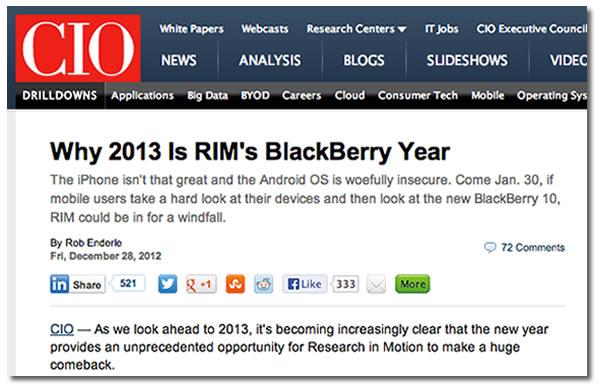 enderle - why 2013 is rims blackberry year