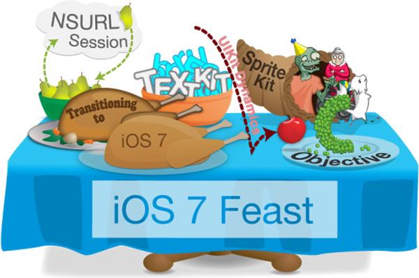 ios 7 feast