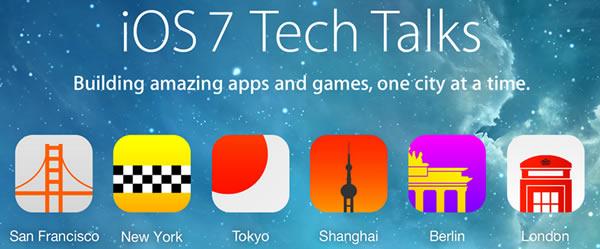 ios 7 tech talks