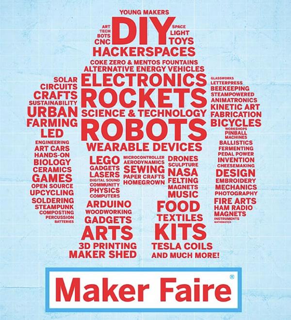 maker faire poster