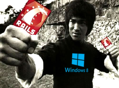 bruce lee - rails - windows 8