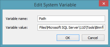 edit system variable