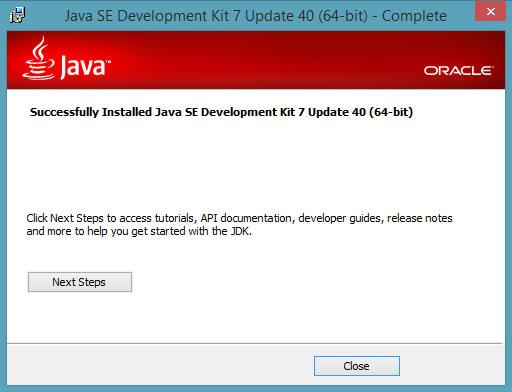 jdk installer 4