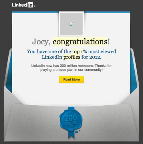 joey devilla top 1 percent linkedin