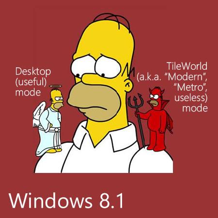 windows 8.1. modes