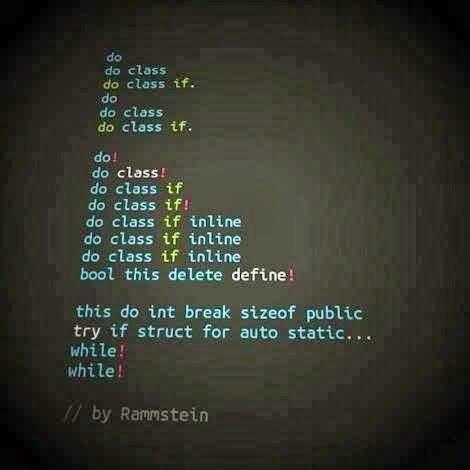 du hast code